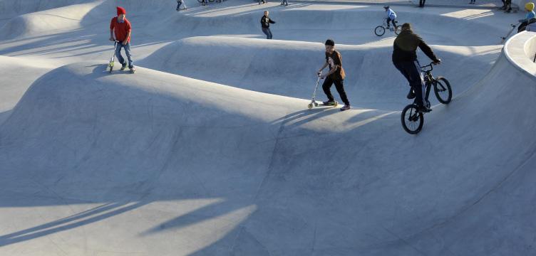 Im Gefilde, Skatepark, München, 2010